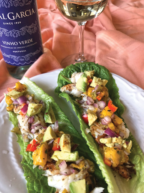 fish lettuce wrap Fresh Seafood Lettuce Wrap Recipes