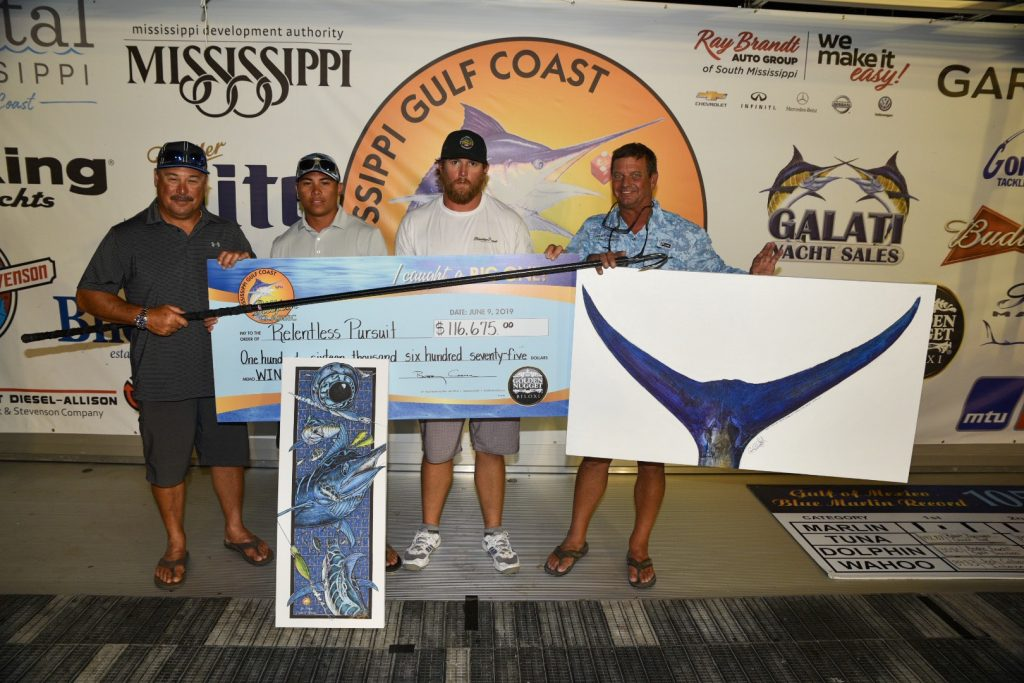 RelentlessPursuit 1024x683 Relentless Pursuit Tops the Field in the 2019 Mississippi Gulf Coast Billfish Classic