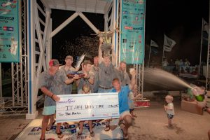 ChampagneShower 300x200 Emerald Coast Blue Marlin Classic Sets Single Team Payout Record
