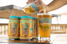 tiki wheat 285x190 Owner of Galveston Island Brewing Keeps the Island Vibes Alive