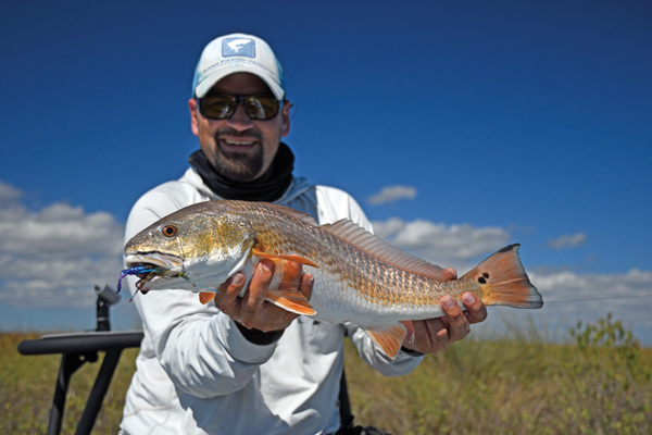 buggs lure redfish sheward Buggy Whippin: Galveston sight casting with Capt. Clay Sheward